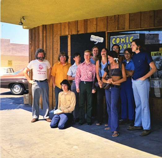 Ken Krueger, Richard Butner, Barry Alfonso, Bill Lund, and Other 1973 Comic-Con People