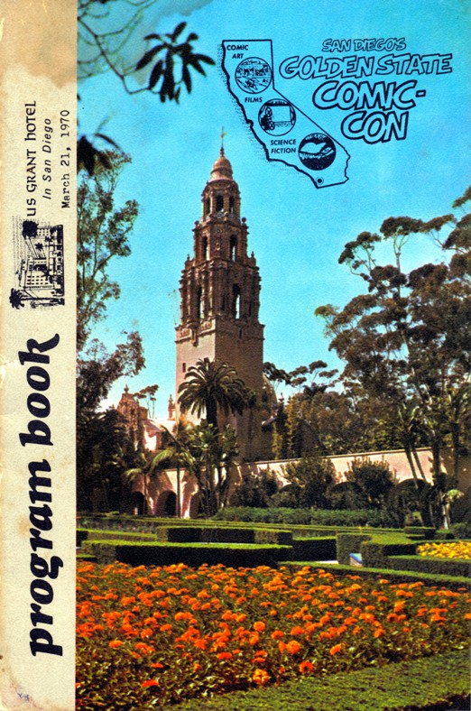 March 1970 Program Book Cover for San Diego's Golden State Comic-Minicon